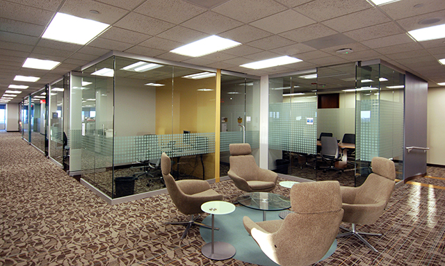 Bear construction company a chicago leader in general for Office design northbrook il